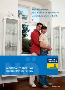 Wohnbauförderung Eigenheimsanierung Broschüre