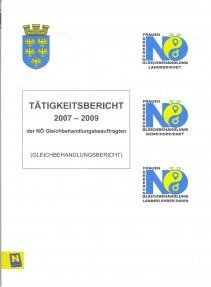 Bericht der NÖ Gleichbehandlungsbeauftragten 2007-2009 Broschüre