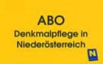 ABO der Broschürenreihe Denkmalpflege in Niederösterreich