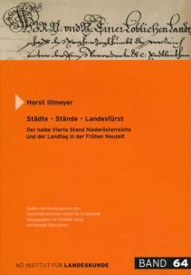 Horst Illmeyer: Städte - Stände - Landesfürst