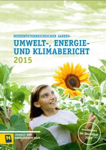 Umwelt- Energie- und Klimabericht 2015