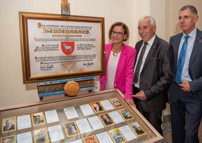 20 Jahre Stadterhebung und 50 Jahre Großgemeinde Neulengbach