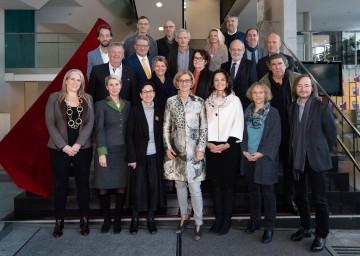 Landeshauptfrau Johanna Mikl-Leitner nahm an der Konstituierenden Sitzung des Niederösterreichischen Kultursenats teil.