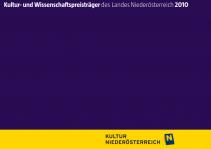 Kultur- und WissenschaftspreisträgerInnen des Landes Niederösterreich 2010